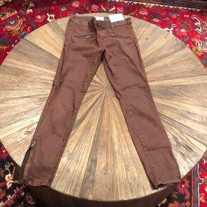 "Current/Elliot ""Soho Stiletto"" ankle zip jeans"